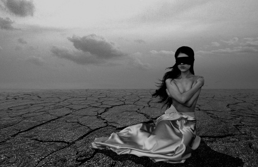 donna deserto